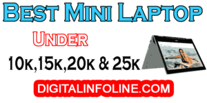 Best Mini Laptops under 20K, 15000, 25000 and 10000 in India