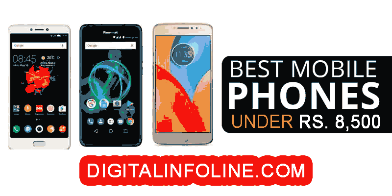 Best Mobile Phones Under 8500