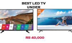 TOP 10 Best LED TV Under 40000 (55,50 & 43 inch LED) in India 2020