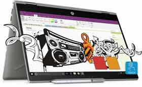 HP Pavilion x360 14-cd0053TX 2 in 1 Laptop