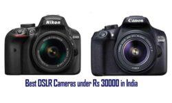 Top 10 Best DSLR Camera Under 30000 in India 2021