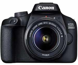 Canon EOS 3000D 18MP Digital SLR Camera