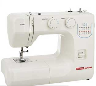 Usha Janome Allure Electric Sewing Machine