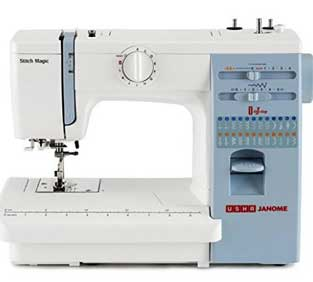 Usha Janome Automatic Magic Sewing Machine