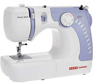 Usha Janome Dream Electric Sewing Machine