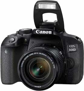 Canon EOS 800D 24.2MP Digital SLR Camera