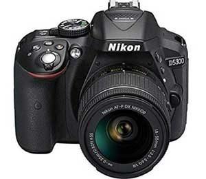 Nikon D5300 24.2MP Digital SLR Camera