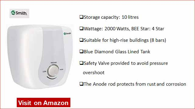 AO Smith HSE 10L Water Heater