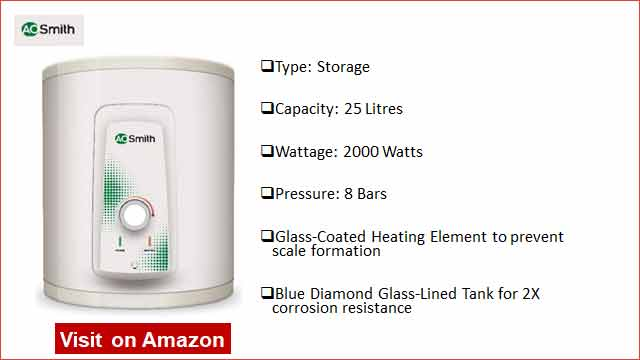 AO Smith HSE-25 Litre Water Heater