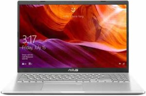 ASUS VivoBook 15 AMD Quad Core Ryzen 5 Compact and Light 256GB NVMe SSD Laptop