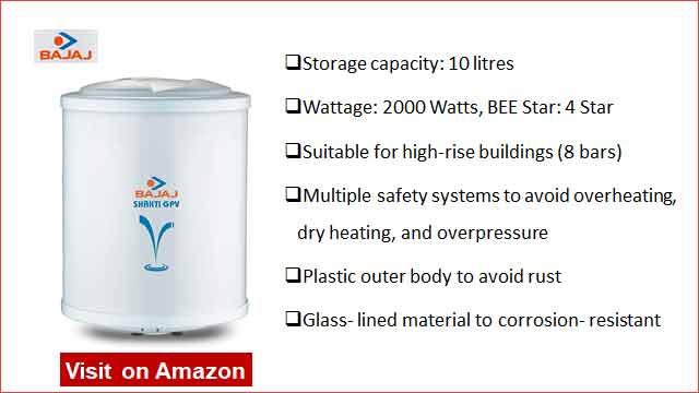Bajaj Shakti 10L Water Heater