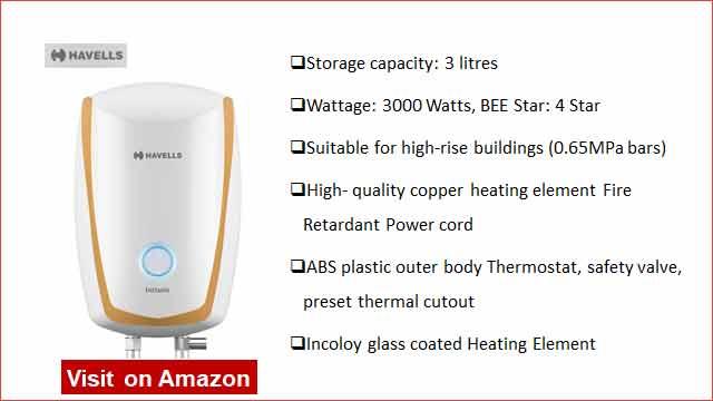 Havells Instanio 3L Instant Water Heater