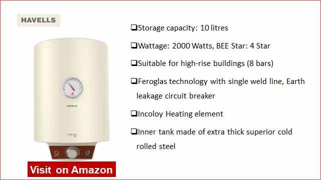 Havells Monza EC 10 10-L Water Heater