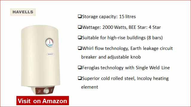Havells Monza EC 5S 15-L Water Heater