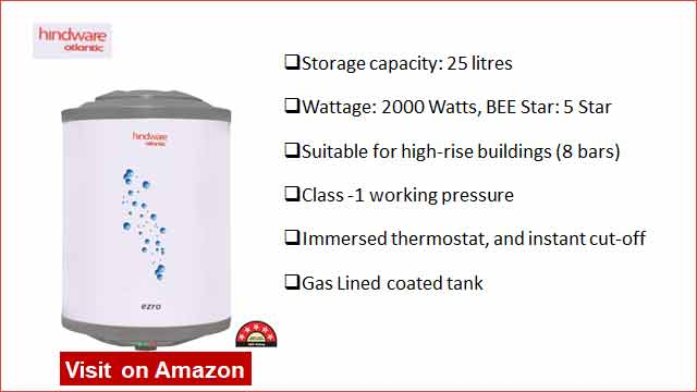 Hindware Atlantic 25 L Water Heater
