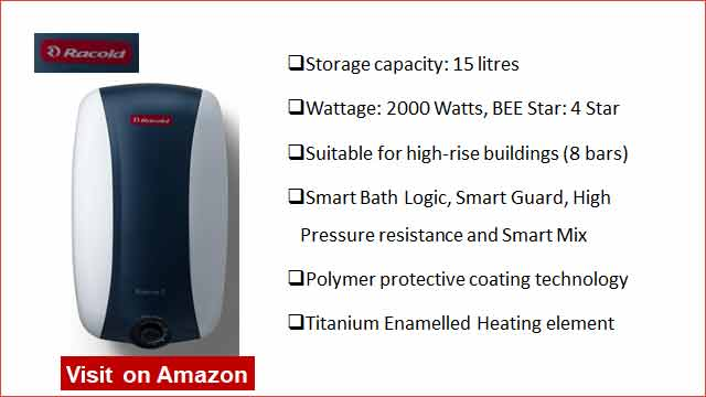 Racold Eterno 2 15 L Water Heater