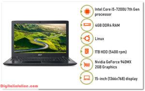 Acer E5-575G Intel Core i5 7th Gen