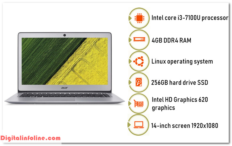 Acer Swift 3 linux laptop