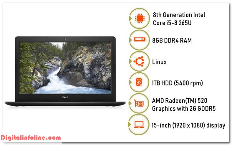 Dell Vostro 15 3580 Intel Core i5 8th gen