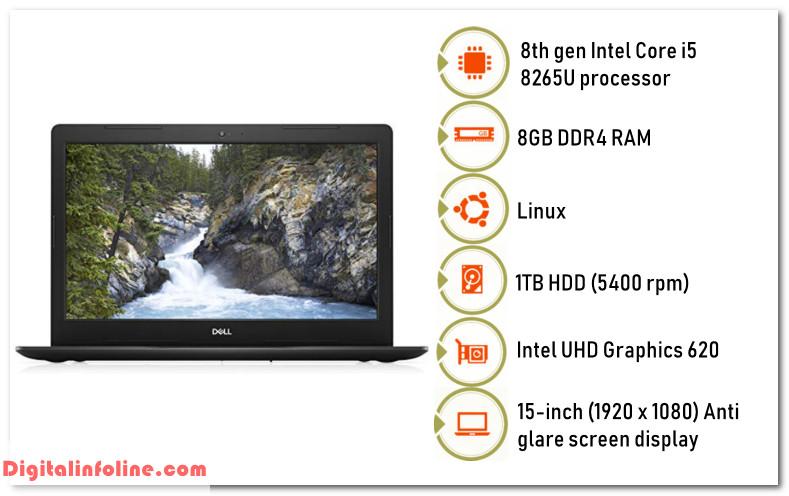 Dell Vostro 3580 Intel Core i5 8th gen