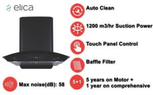 Elica 60 cm Auto Clean Chimney