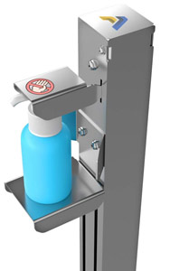 Hands-Free Sanitizer Dispenser