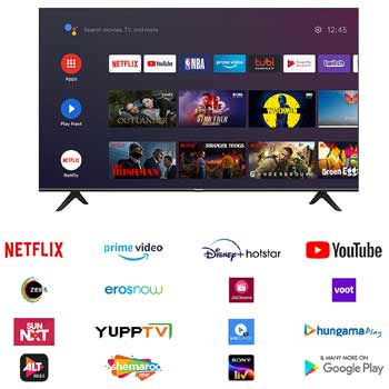 Hisense 58 inche 4K Ultra HD Smart Certified Android LED TV 58A71F