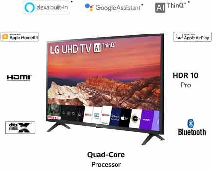 LG (50 inche 4K Ultra HD Smart LED TV 50UM7290PTD