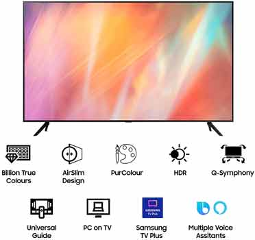 Samsung 50 inche Crystal 4K Pro Series Ultra HD Smart LED TV UA50AUE70AKLXL