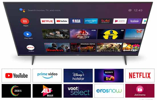 TCL 55 inche 4K Ultra HD Certified Android Smart LED TV 55P615
