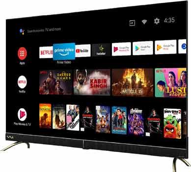 VU 50 inche 4K Ultra HD Cinema Android Smart LED TV 50CA